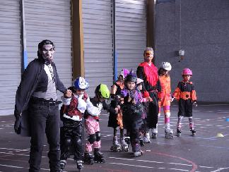 Des petits monstres au cours enfants du samedi...